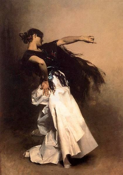 John Singer Sargent- Spanish Dancer