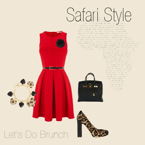 """""""Safari Style"""" by hubbstyle on Polyvore"""