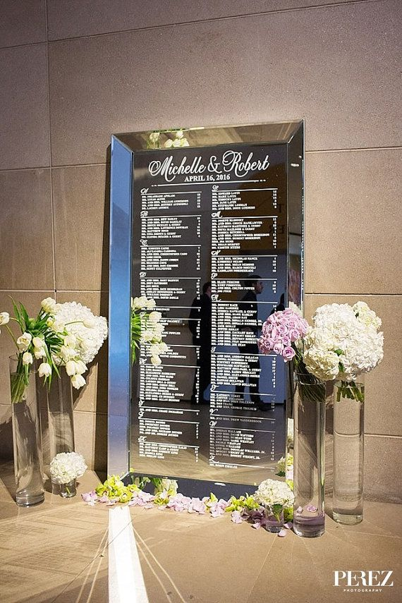 Custom Wedding Decals- Wedding Signs, Wedding Seating Chart, Custom Wedding Signs, Seating Chart Sign, Wedding Decor, Custom Decals, Wedding