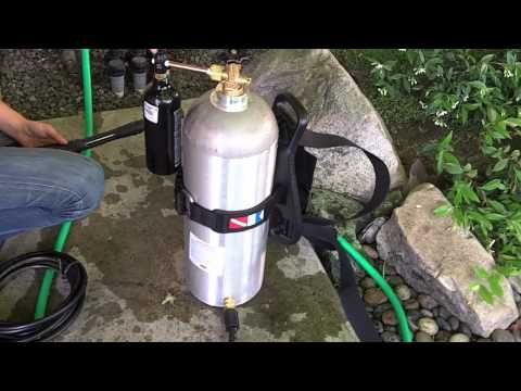 Make This Badass DIY Flamethrower From Sh*t In Your Garage! | flame