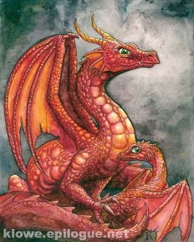 A Red Dragon By Kathleen Lowe