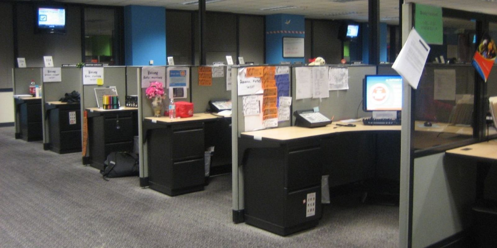 decorating office cubicle. office with cubicles cubicle designs figure 92 how much time would you spend decorating