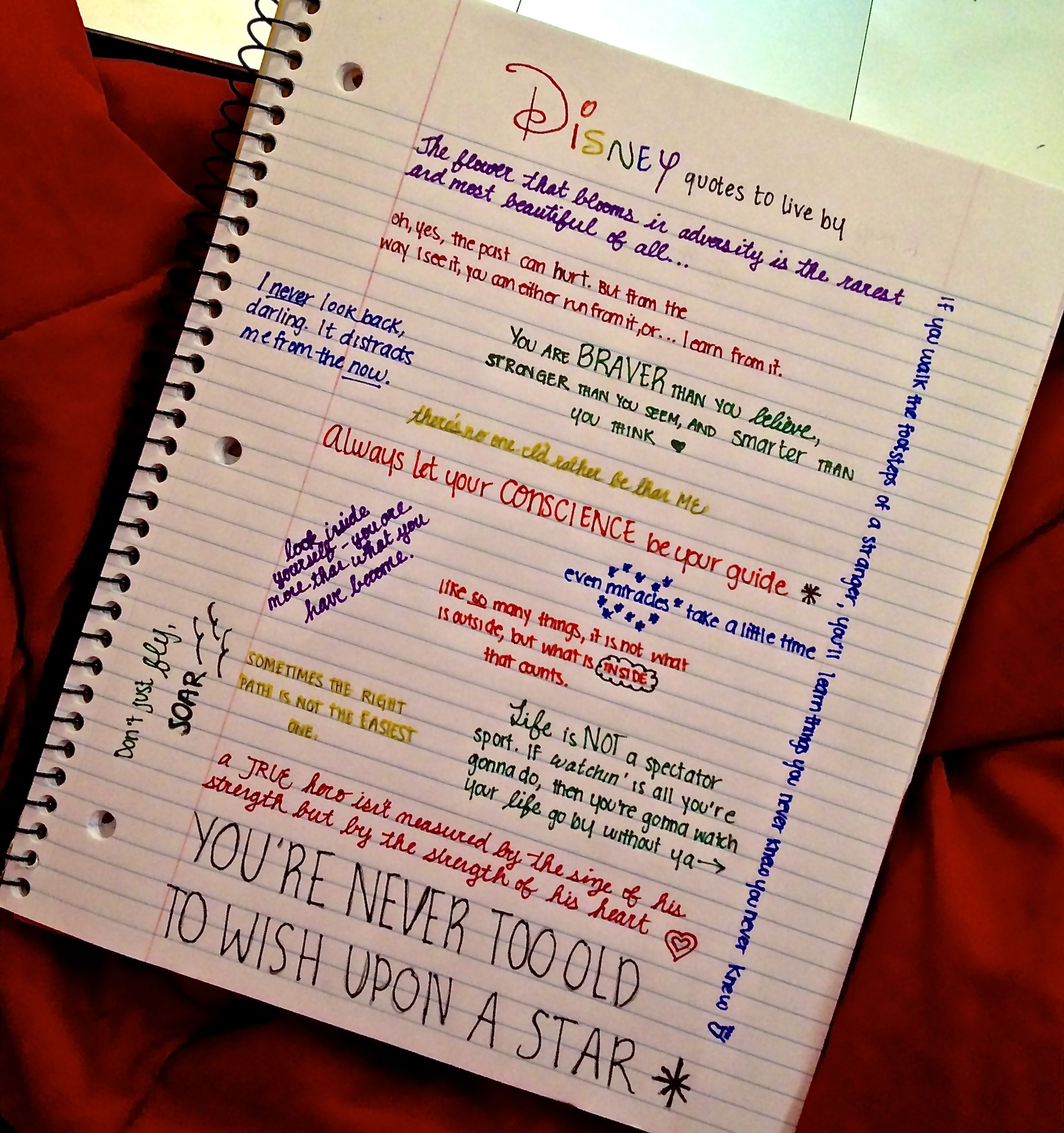 Disney quotes to live by :) by fallinlove-withdisney ...