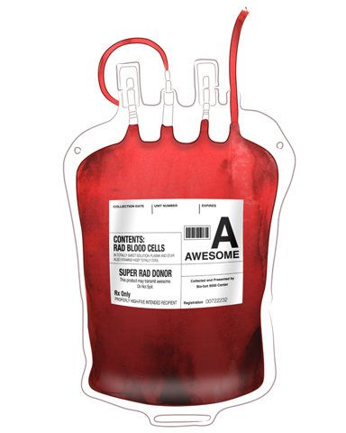 Donor Doacao De Sangue Bolsa De Sangue