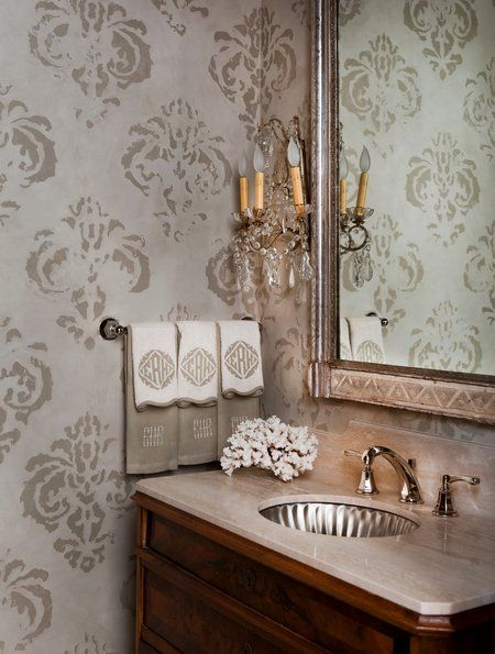 Fleur De Lis The Perfect Decor For French Home Style Powder