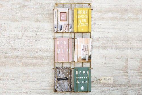 Porte cartes postales doré   Idées pour la maison   Pinterest