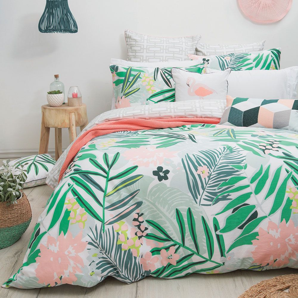 Bambury Lani Hawaii 100% Cotton Quilt Doona Cover Set - SINGLE DOUBLE QUEEN KING #Bambury