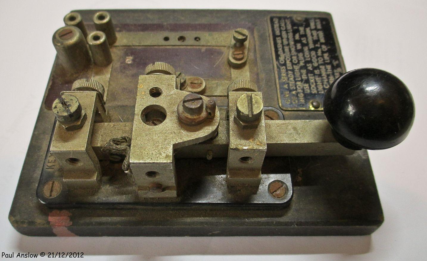 Morse Key   Amateur Radio   Morse code translator, Morse code, Ham radio