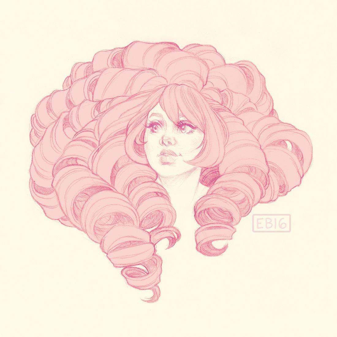 Steven Universe Sketch Rose: Elizabethbeals: Rose Quartz Todays' Warm-up Sketch