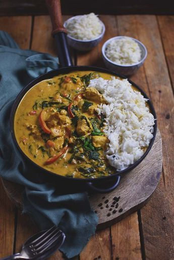Photo of Chicken spinach curry: Soul food made easy ⋆ Crunchy room
