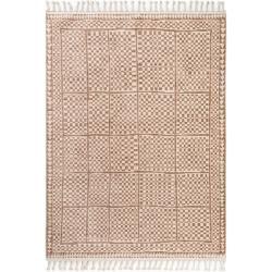 Photo of benuta Kurzflor Teppich Bahar Beige/Braun 240×380 cm – Moderner Teppich für Wohnzimmer benuta