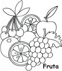 Imagen Relacionada Fruits Drawing Preschool Art Mosaic Patterns