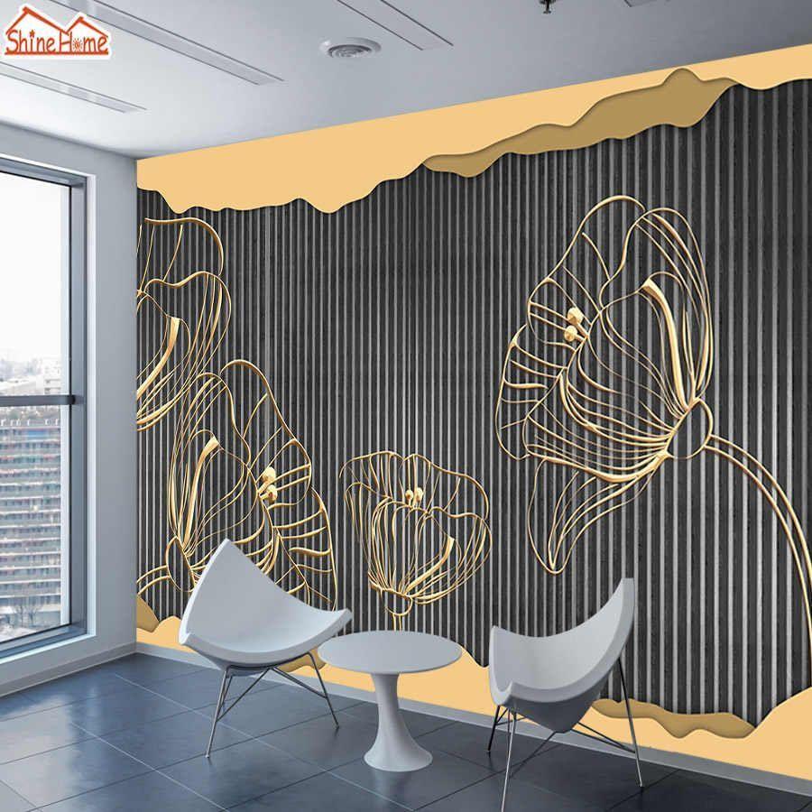 8d Seide 3d Foto Tapeten Wandbild Papier Tapete für Wohnzimmer Wände in ...#foto #für #papier #seide #tapete #tapeten #wandbild #wände #wohnzimmer