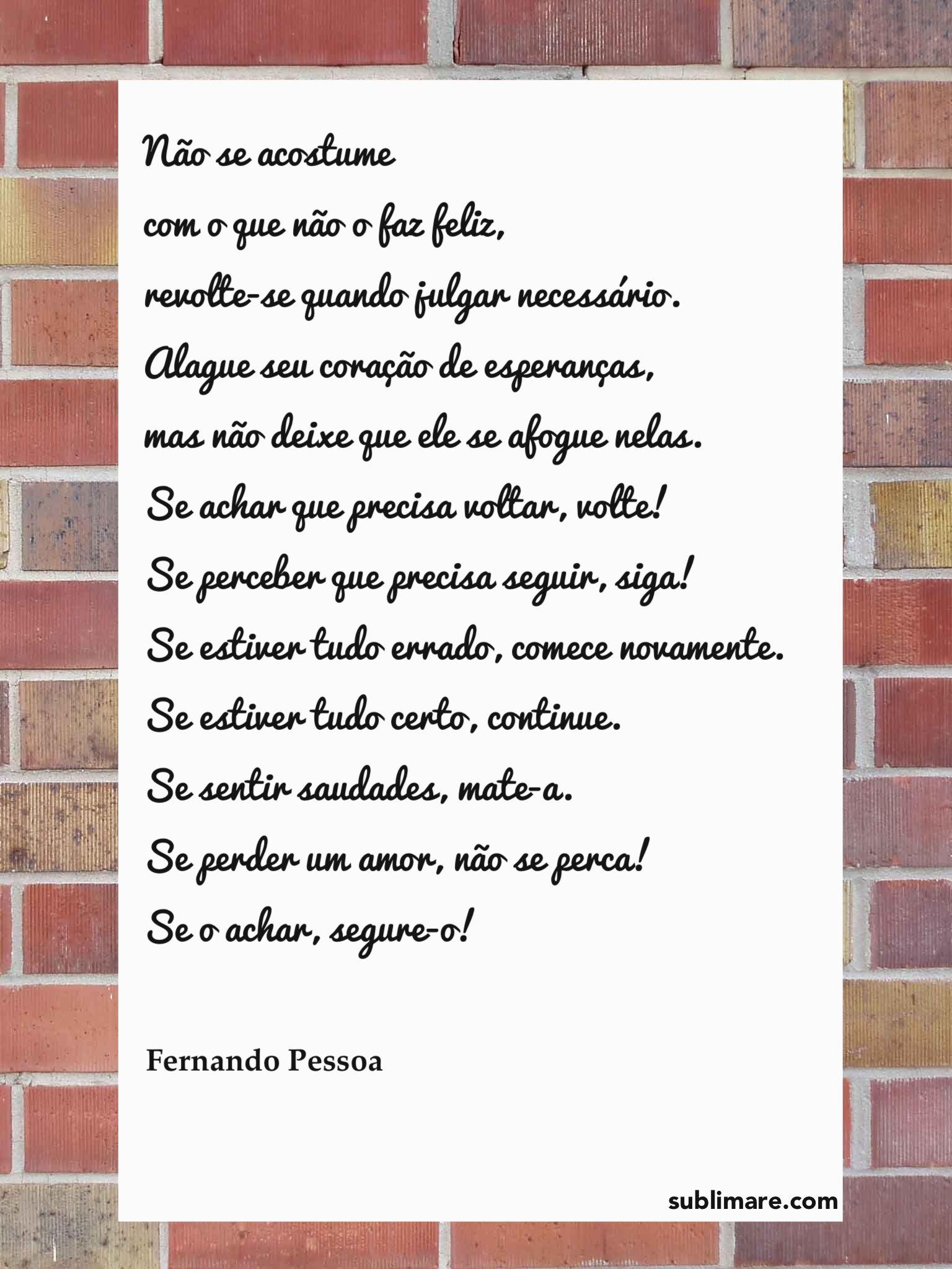 Poema Da Felicidade Quotes Pessoa Fernando Pessoa E Poema