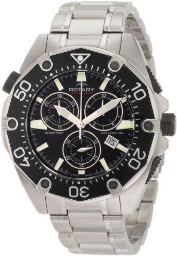 Rotary Men's AGB90036C04G Aquaspeed Sports Chronograph