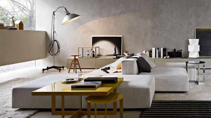 Freestyle Divani Molteni & C | Livingroom | Pinterest