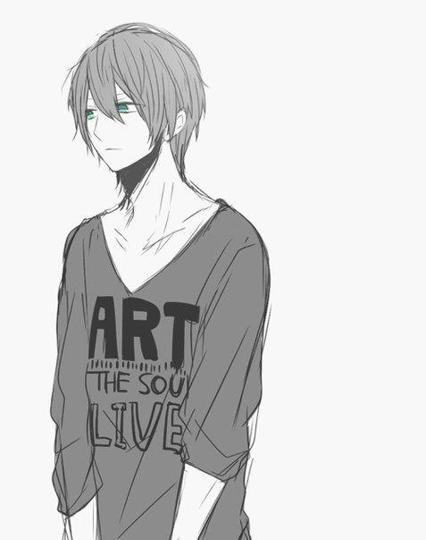 Anime boy gay