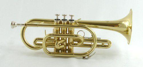 Schiller Shepards Crook Cornet Cornet Instrument Cornet For Sale