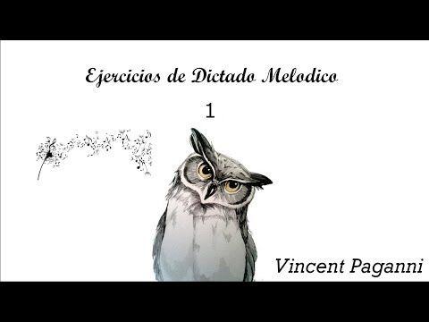 Ejercicios de Dictado Melodico 1 - YouTube