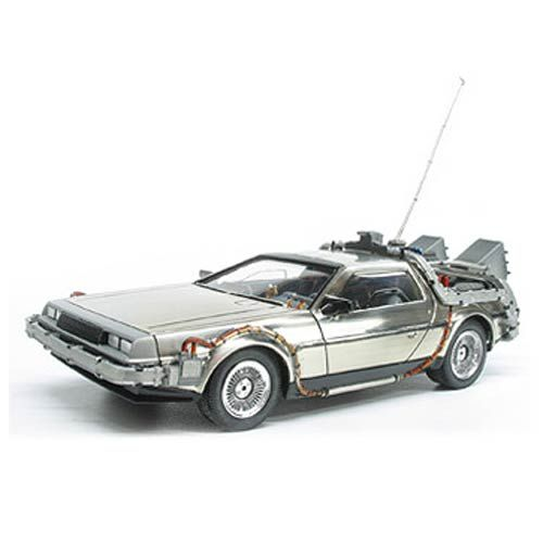 Back To The Future Delorean Time Machine 1 25 Scale Snap Fit Model