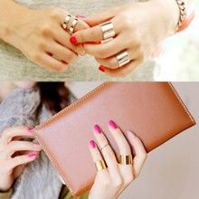 2016 New 3 pcs. /Set. fashion finger over the midi knuckles open ring for women…