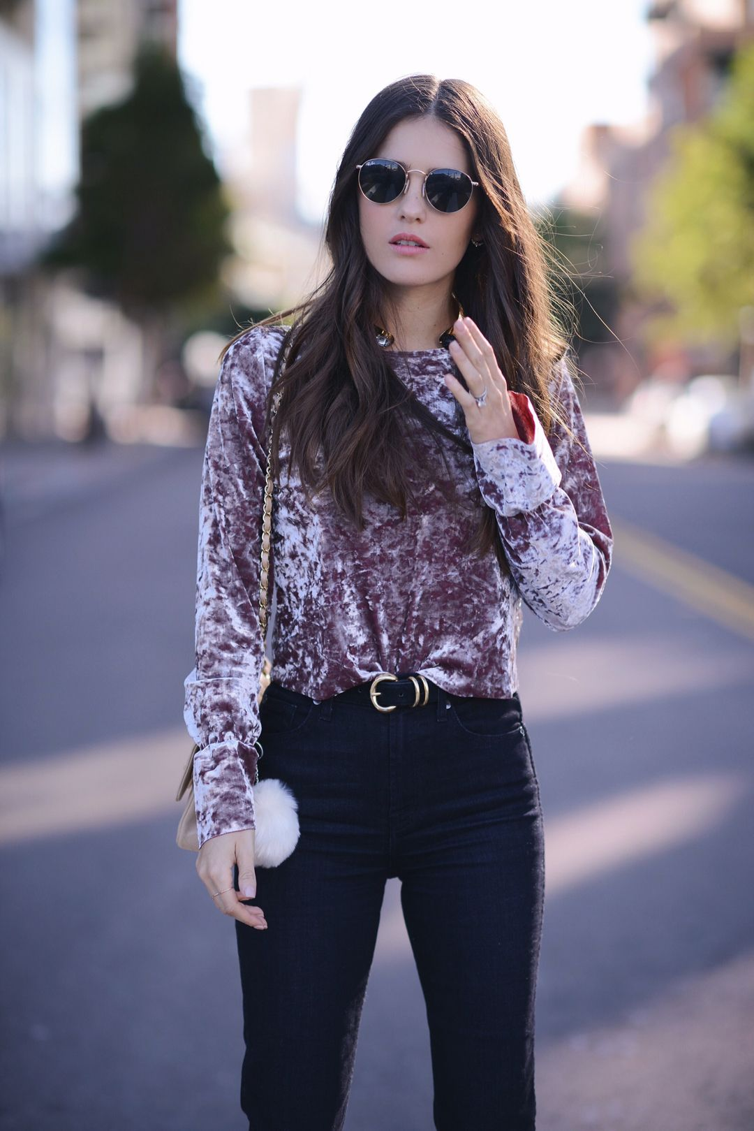 How to wear velvet this fall | How to wear, Vintage velvet dress, Fashion