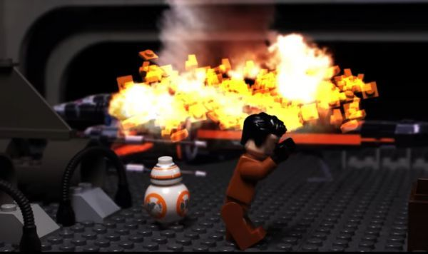 The Last Jedi Trailer Remade in LEGO - Neatorama