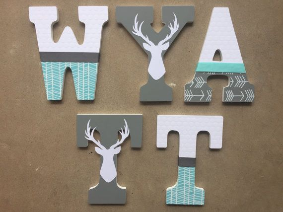 Woodland Nursery Letters Woodland Letters By