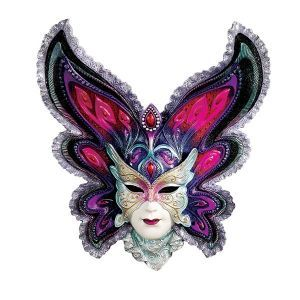 Decorative Venetian Masks Fair Exotic Mardi Gras Masks  Wu74139 Mask Venice Sculpture Design Inspiration