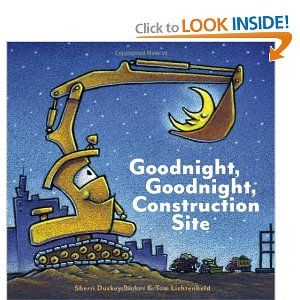 A sweet bedtime book for any child that LOVES construction trucks and vehicles.