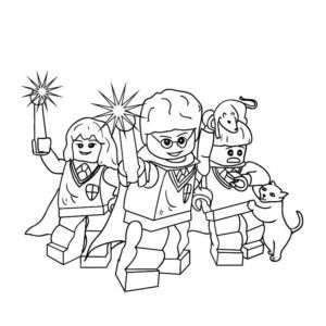 Lego Harry Potter Coloring Pages Coloring Pages Lego Kleurplaten Kleurplaten Gratis Kleurplaten