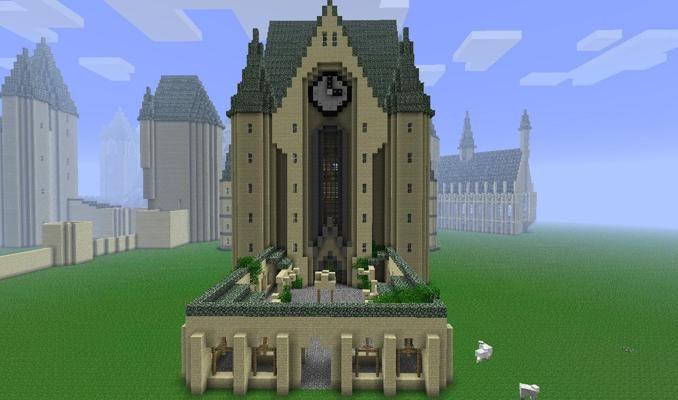 Minecraft Hogwarts Map Download Hogwarts Minecraft Minecraft Seed Minecraft Bridges