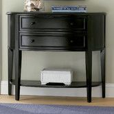 """Found it at Wayfair - Demilune Console Table  32.25"""" high, 38"""" wide, 14.5"""" deep"""