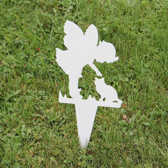 Girl Angel Memorial Garden Stake By NewCastleSign On Etsy, $24.00