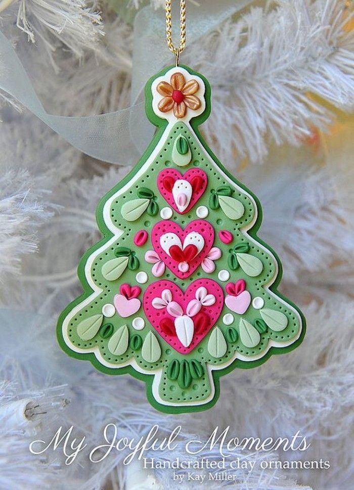 国外polymer clay手工达人的圣诞主题系列作品,简直美翻了 - ś�外polymer Clay手工达人的圣诞主题系列作品,简直美翻了 Felt Lovely