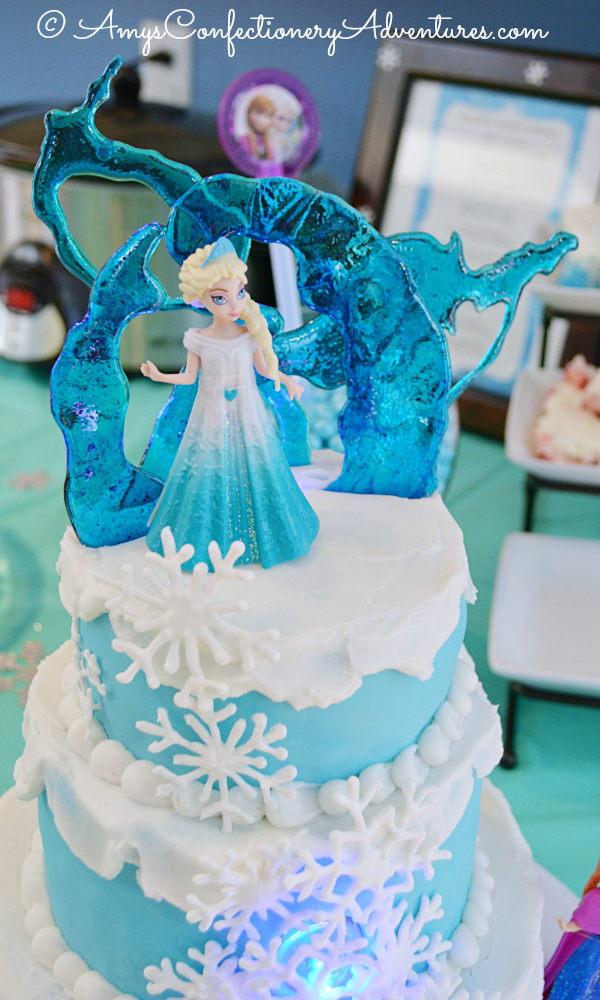 Amy S Confectionery Adventures Frozen Ice Castle Cake