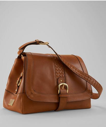 Ll Bean Signature Leather Handbag