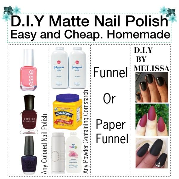 D.I.Y Matte Nail Polish !!!!!! Cheap! Fast! And Easy! by simply ...