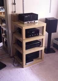 bildergebnis f r ikea lack audio rack hifi designs ikea lack audio rack decor. Black Bedroom Furniture Sets. Home Design Ideas