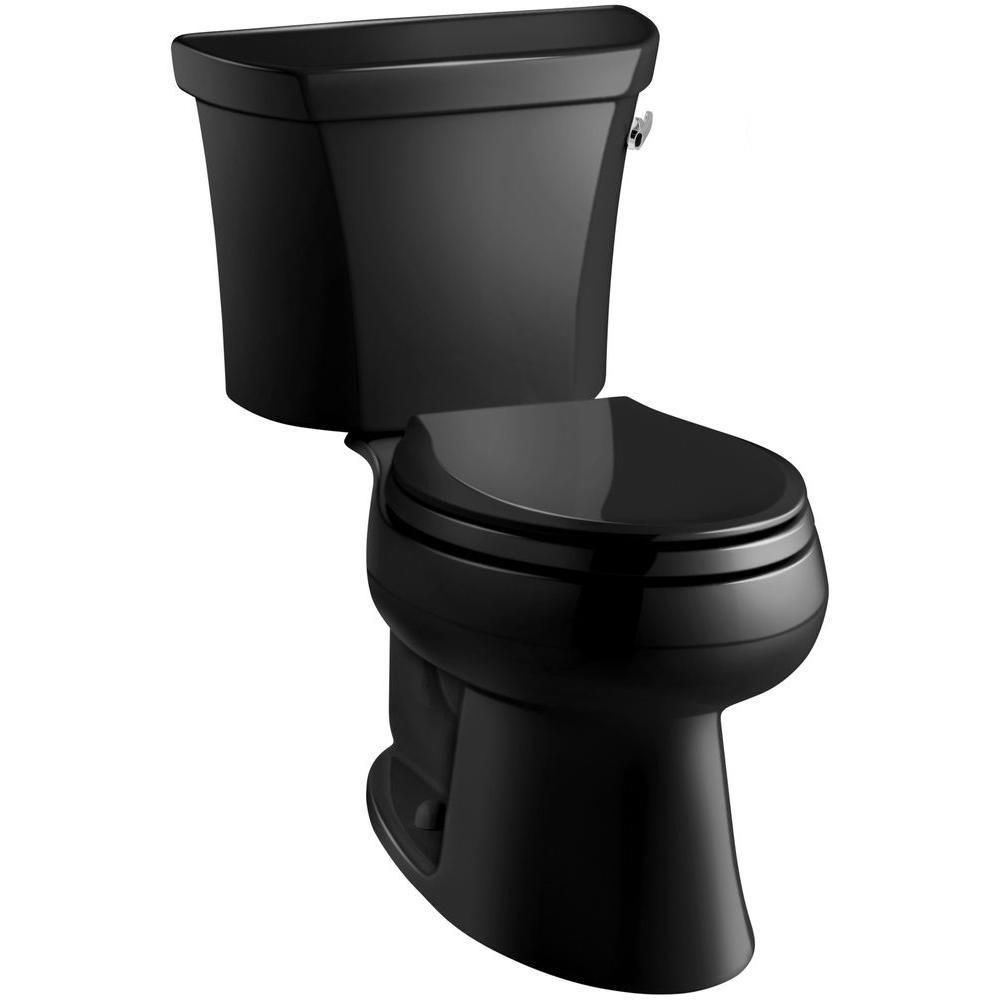 Kohler Wellworth 2 Piece 1 6 Gpf Single Flush Elongated Toilet In