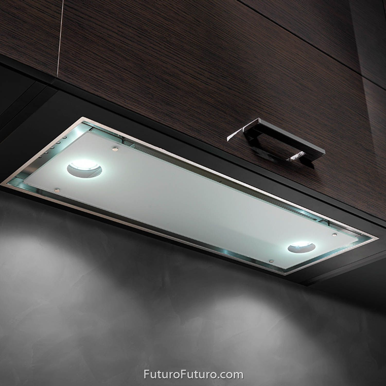 30 Raccolta Insert Designed For Kitchens Where A Minimal Clean Look Is Desired The Raccolta Series Of Range Hood Inserts From Futuro Futuro Is The All In