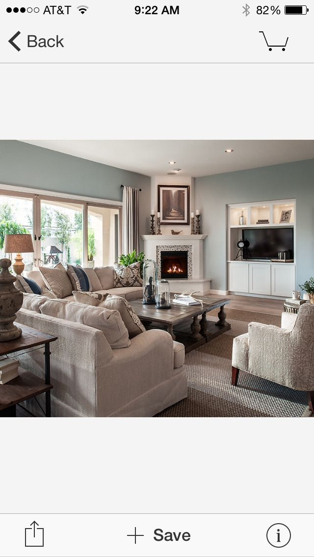 Living Room Corner Furniture Designs: Furniture Arrangement With Corner Fireplace And Love Wall