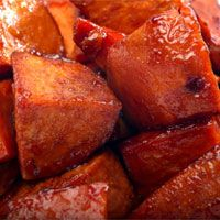 Cinnamon Sweet Potatoes with Vanilla