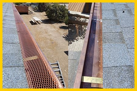 Call Us Today To Know The Average Cost For Guttercleaning In Bay Area Where There Is Heavy How To Install Gutters Rain Gutter Installation Cleaning Gutters