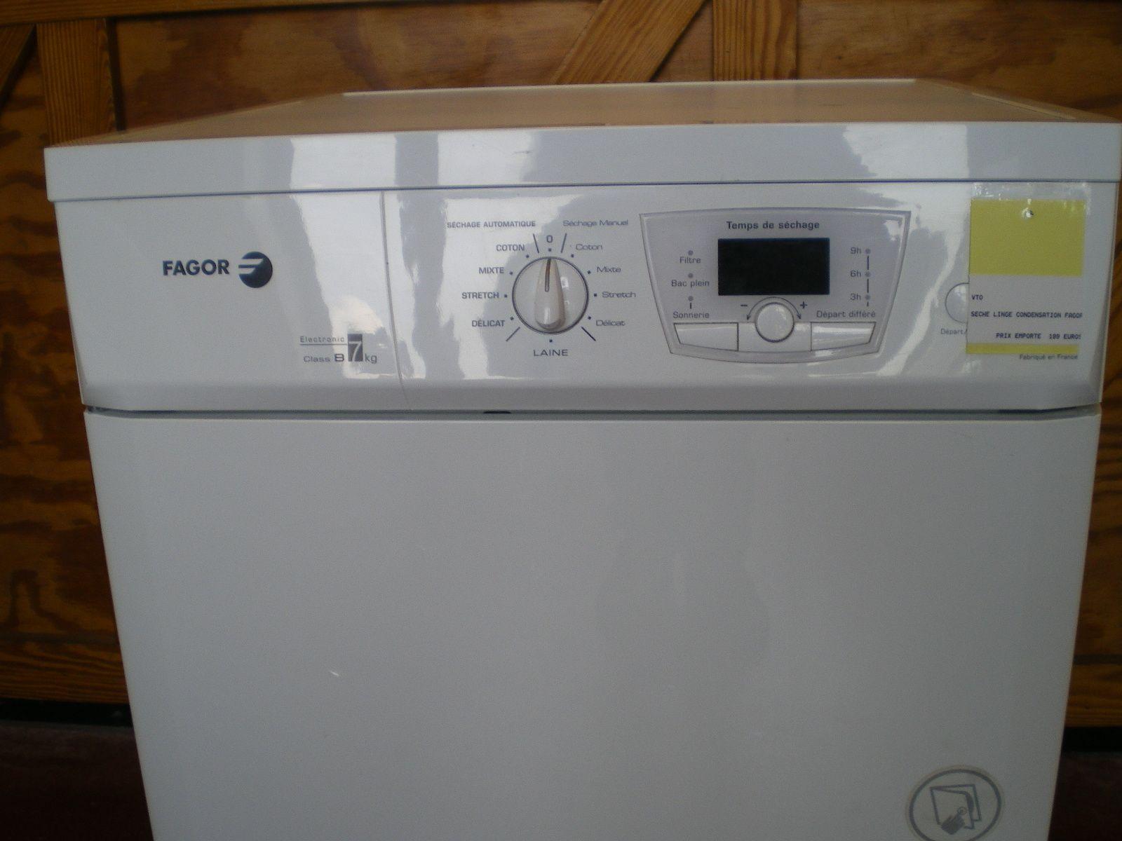 Seche Linge Fagor Seche Linge Condensation Seche Linge Et Gros Electromenager