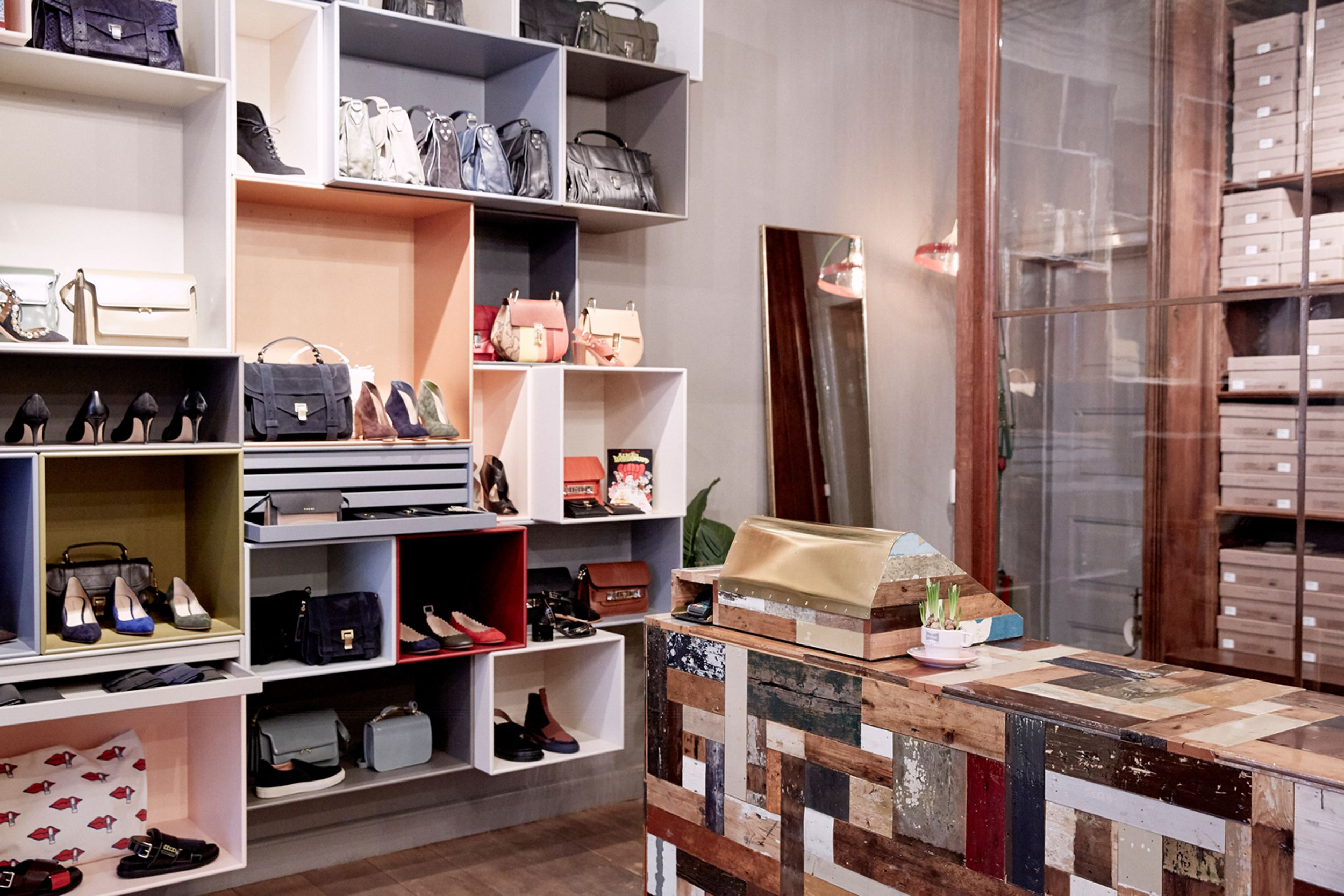 Holly Golightly Copenhagen Inside Store Regnegade Decor By Peter Grant Marlene Bernth Photo Jonas Danholt