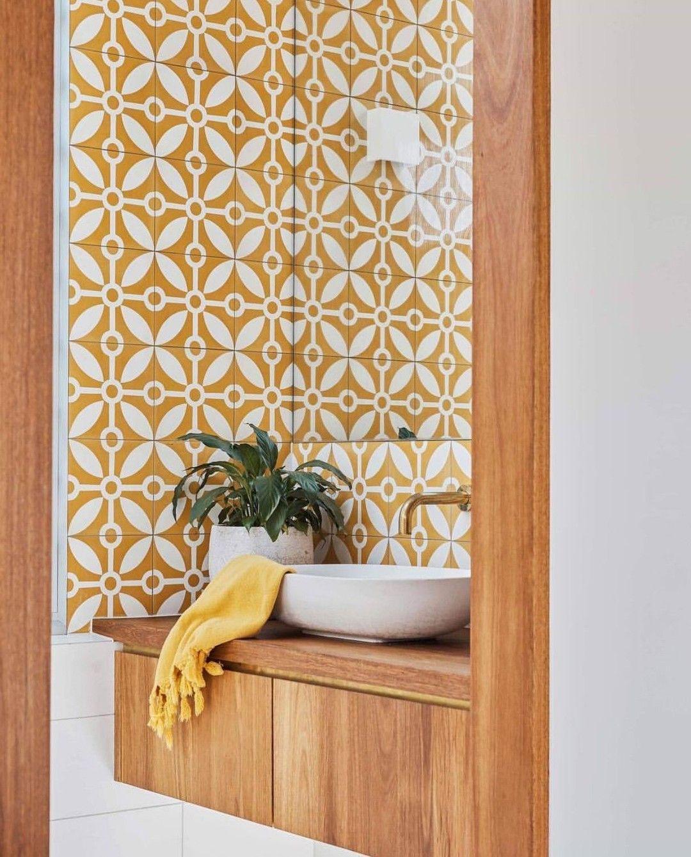 Yellow Bathroomideas: @limelightkitchensbathrooms Posted To Instagram: Shelley
