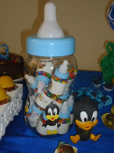 festa baby looney tunes cantinho do patolino made by me eu
