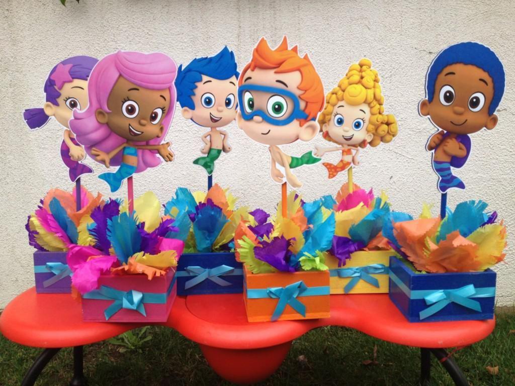 burbuja guppies cumpleaos decoracin de fiesta regalo bubble guppies para el cumpleaos de los