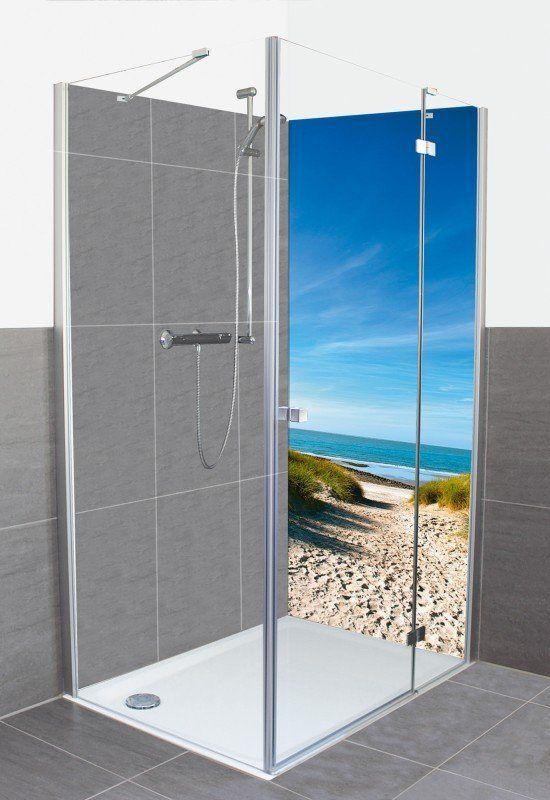 Artland Duschrückwände »Dusche Rückwand Bad 80x200 90x200